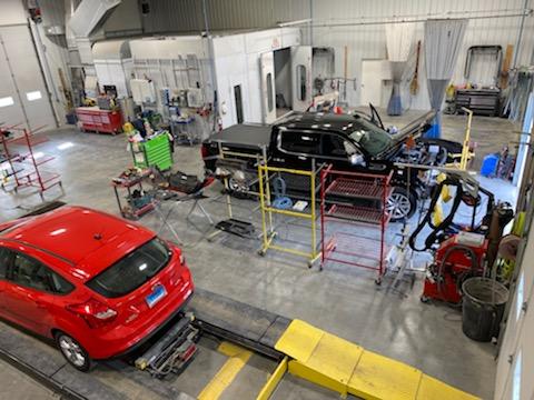 Huron Auto Body Clinic interior